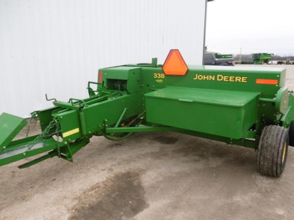 2013 John Deere 338 Small Square Baler