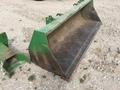 John Deere 8' Bucket Loader and Skid Steer Attachment