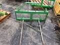 TRI-L 2 Prong Bale Spear Loader and Skid Steer Attachment
