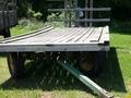 John Deere 8x16 Bale Wagons and Trailer