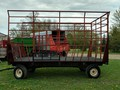 1994 Notch GDEL16 Bale Wagons and Trailer