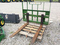 John Deere Forks Loader and Skid Steer Attachment
