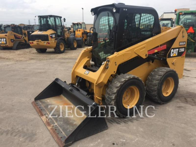 2014 Caterpillar 236D Skid Steer
