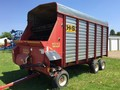 1999 H & S Twin Auger HD Forage Wagon