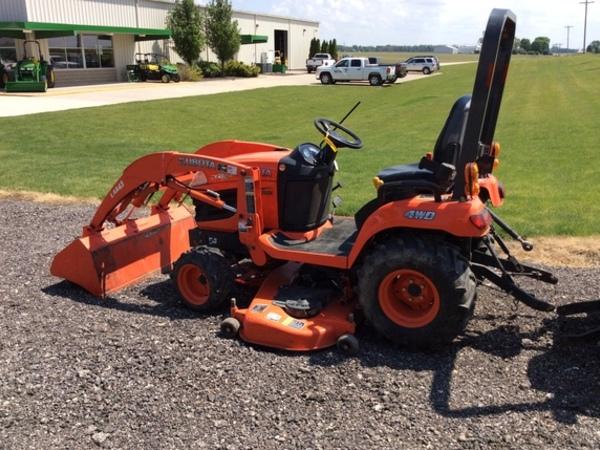Kubota Bx2360 Front Axle : Kubota bx tractor brimfield il machinery pete
