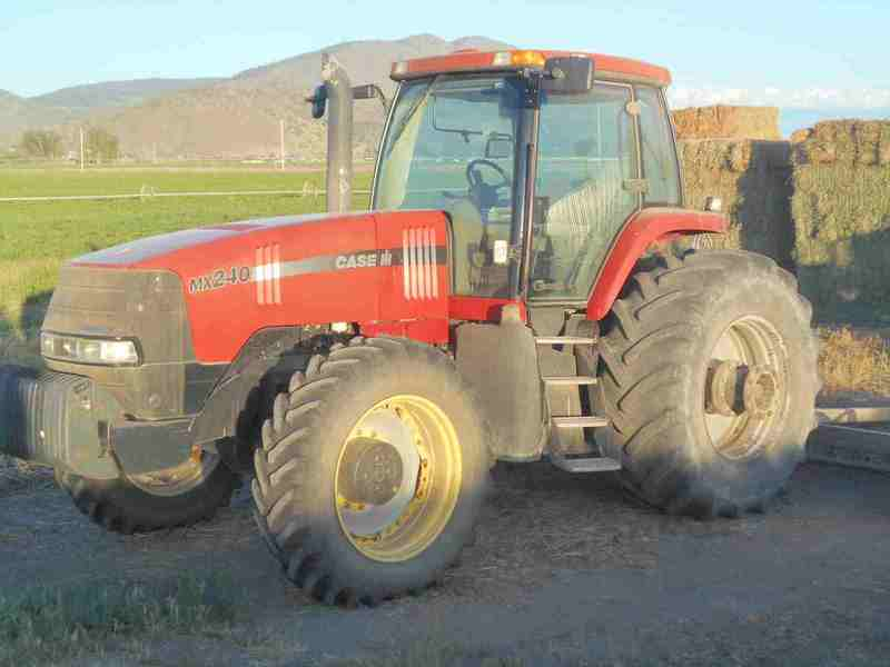 2002 Case IH MX240 Tractor