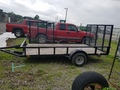 2016 Trail King 6x16 Flatbed Trailer
