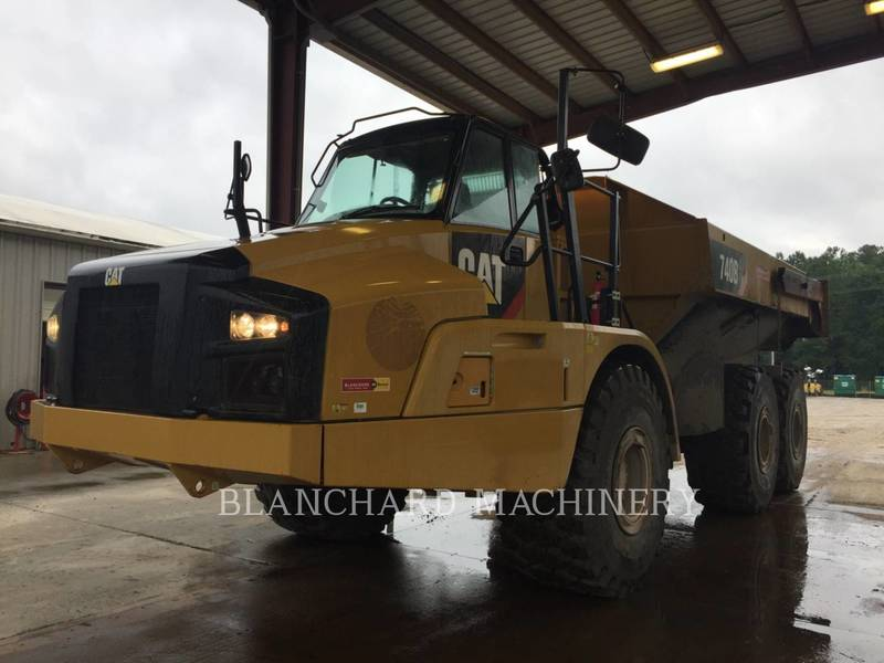 2014 Caterpillar 740B Forestry and Mining