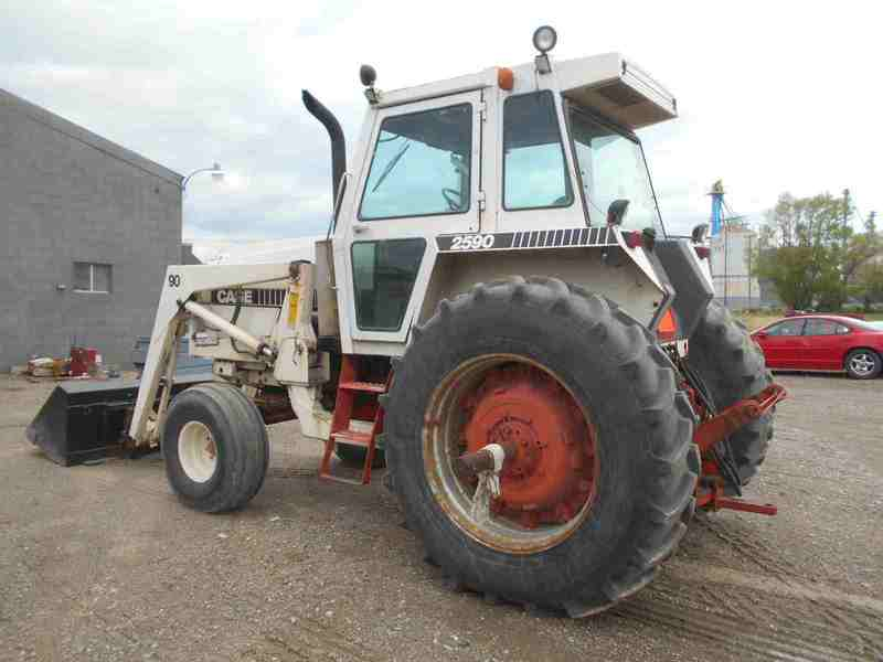 Parts Tractor 2590case : Case tractor meridian id machinery pete