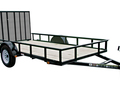 2017 Carry-On 6X12GW Flatbed Trailer