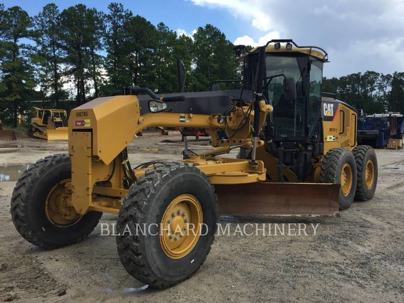 2011 Caterpillar 120M Compacting and Paving