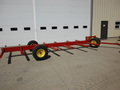 Pequea 646 Bale Wagons and Trailer