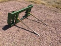 MDS Double Tine Bale Spear Loader and Skid Steer Attachment