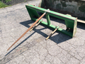 2009 John Deere Bale Spear Loader and Skid Steer Attachment