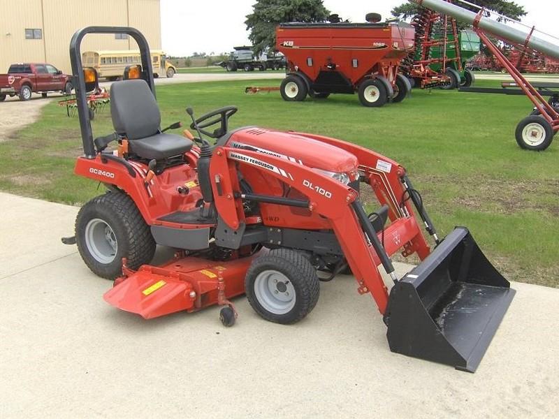 Massey Ferguson 2400 : Massey ferguson gc tractor new hampton ia