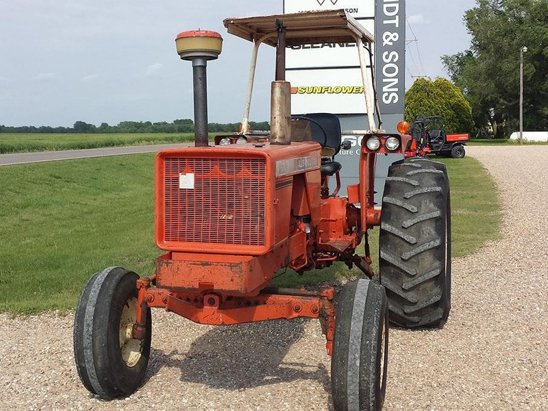 Allis Chalmers 170 Tractor : Allis chalmers tractor mt hope ks machinery