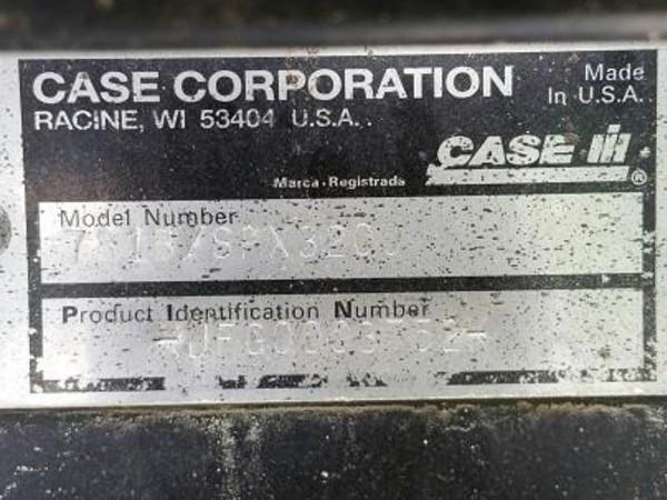 2001 Case IH SPX3200B Self-Propelled Sprayer