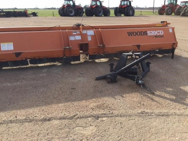 2011 Woods S20CD Flail Choppers / Stalk Chopper