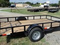 2016 CROSS TRAILERS 12x77 SA Flatbed Trailer
