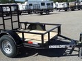 2017 CROSS TRAILERS 4x6 Flatbed Trailer