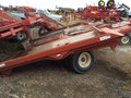 1999 Hesston 4920 Bale Wagons and Trailer