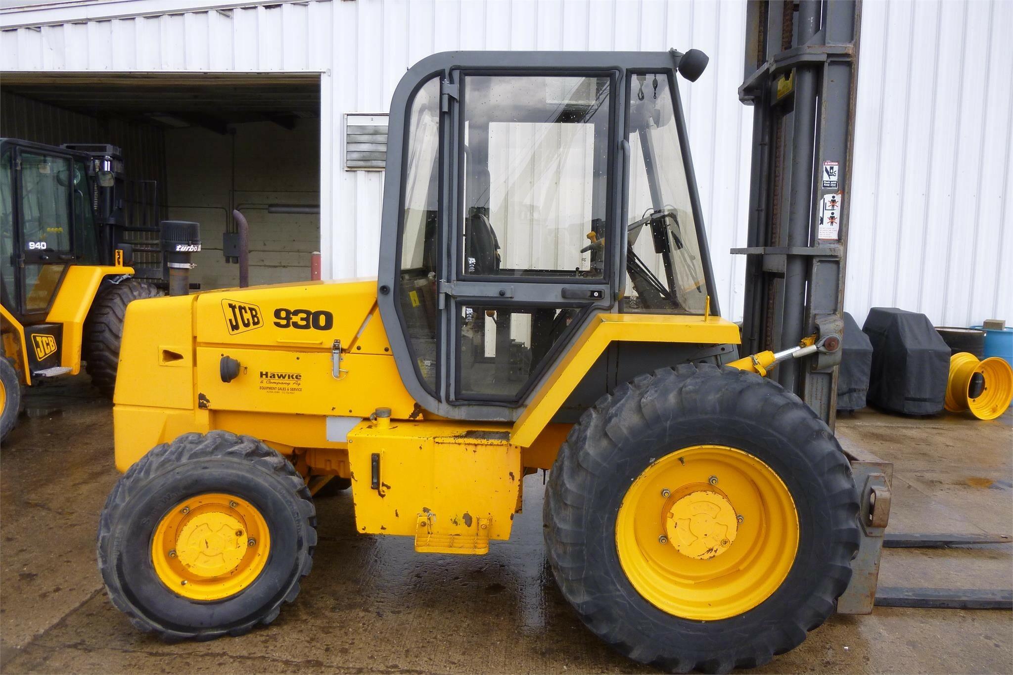 1993 JCB 930 Forklift
