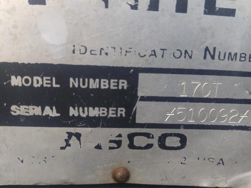 1992 White 170 Tractor