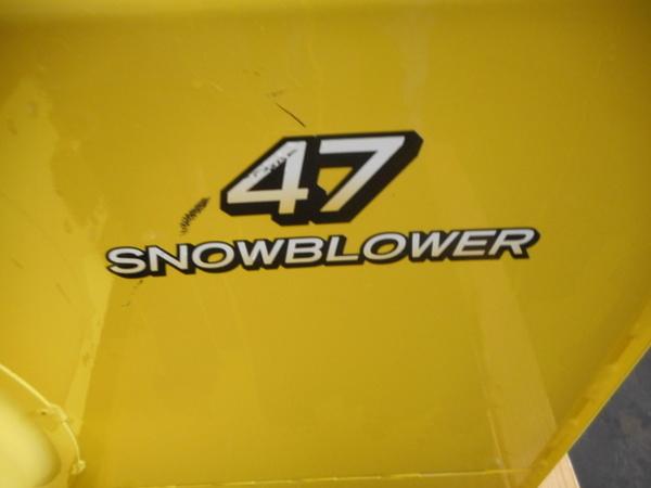 2010 John Deere 47 in. Snow Blower