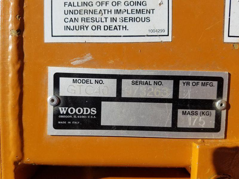 Woods GTC40 Miscellaneous