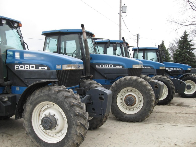 1994 Ford 8770 Tractor