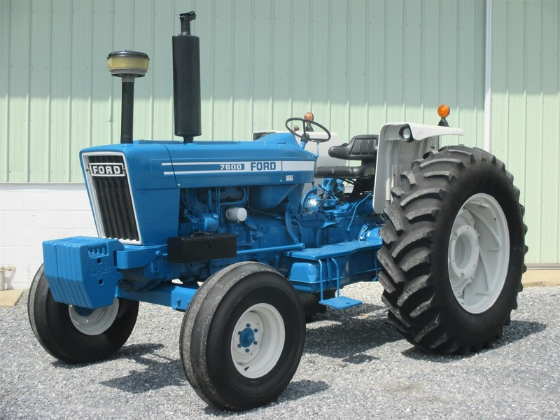 Ford 7600 Specs : Ford tractor lebanon pa machinery pete
