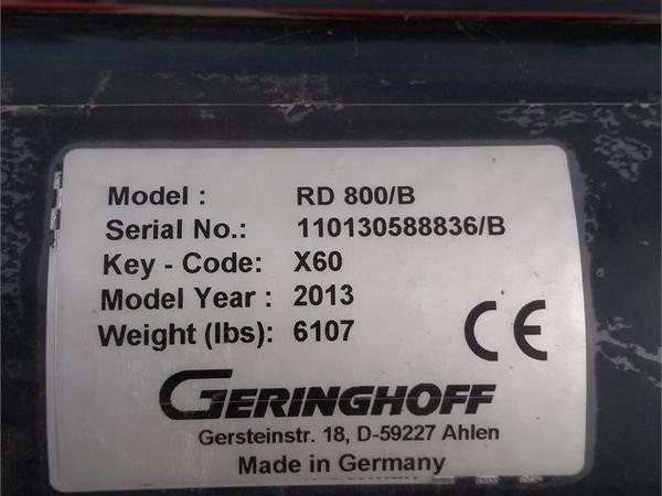 2013 Geringhoff ROTA-DISC 800B Corn Head