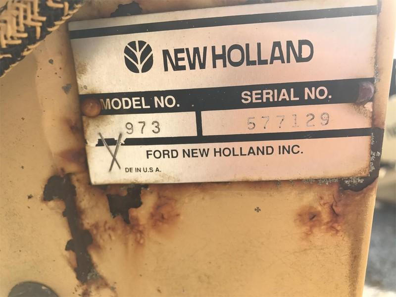 1986 New Holland 973 Platform