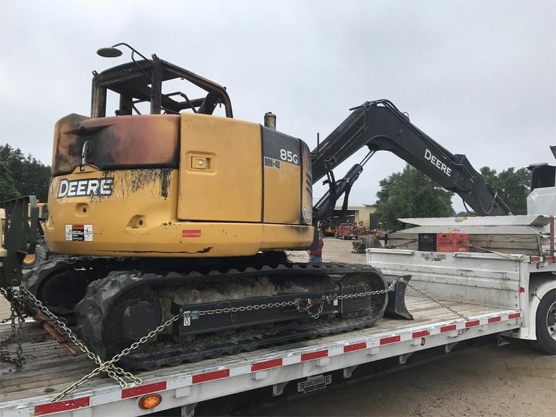 Deere 85G Excavators and Mini Excavator