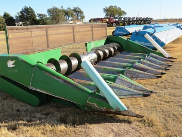1987 John Deere 853a Corn Head Garden City Ks Machinery Pete