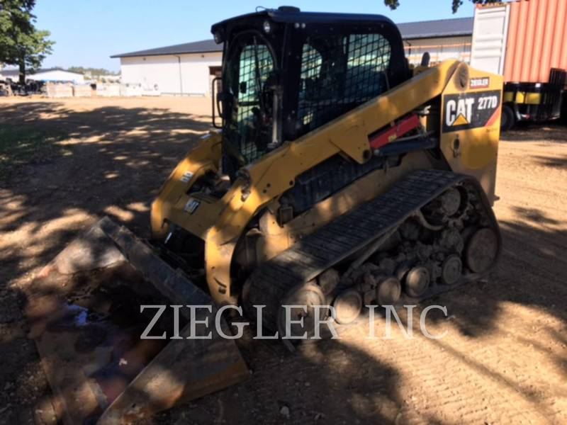 2015 Caterpillar 277DSR Skid Steer