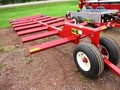 2017 H & S BT814 Bale Wagons and Trailer