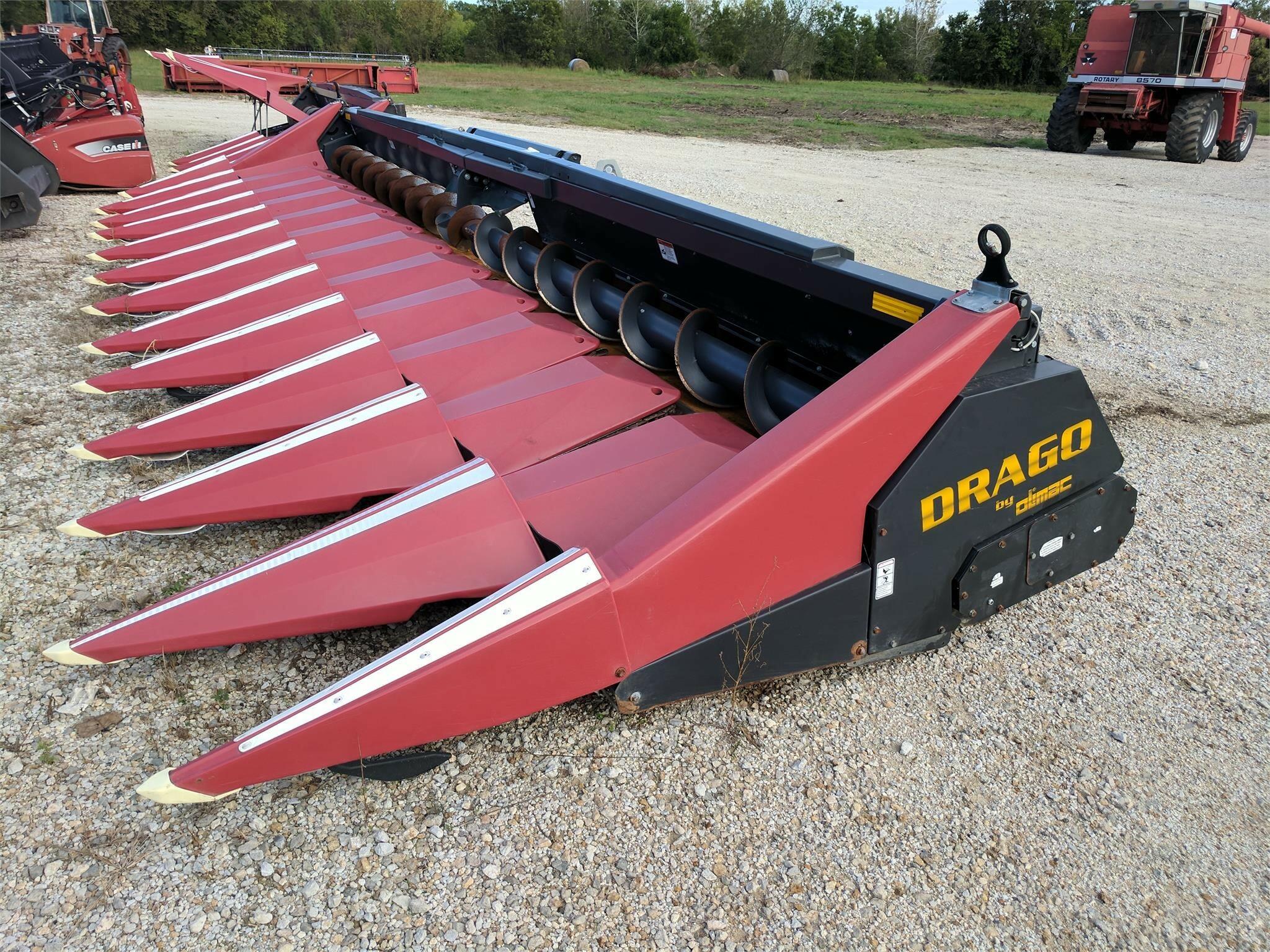 2012 Drago 1230 Corn Head