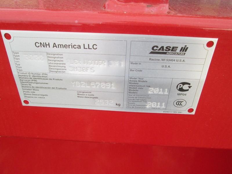2011 Case IH 3020 Platform