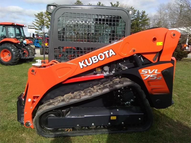2017 Kubota SVL75 Skid Steer