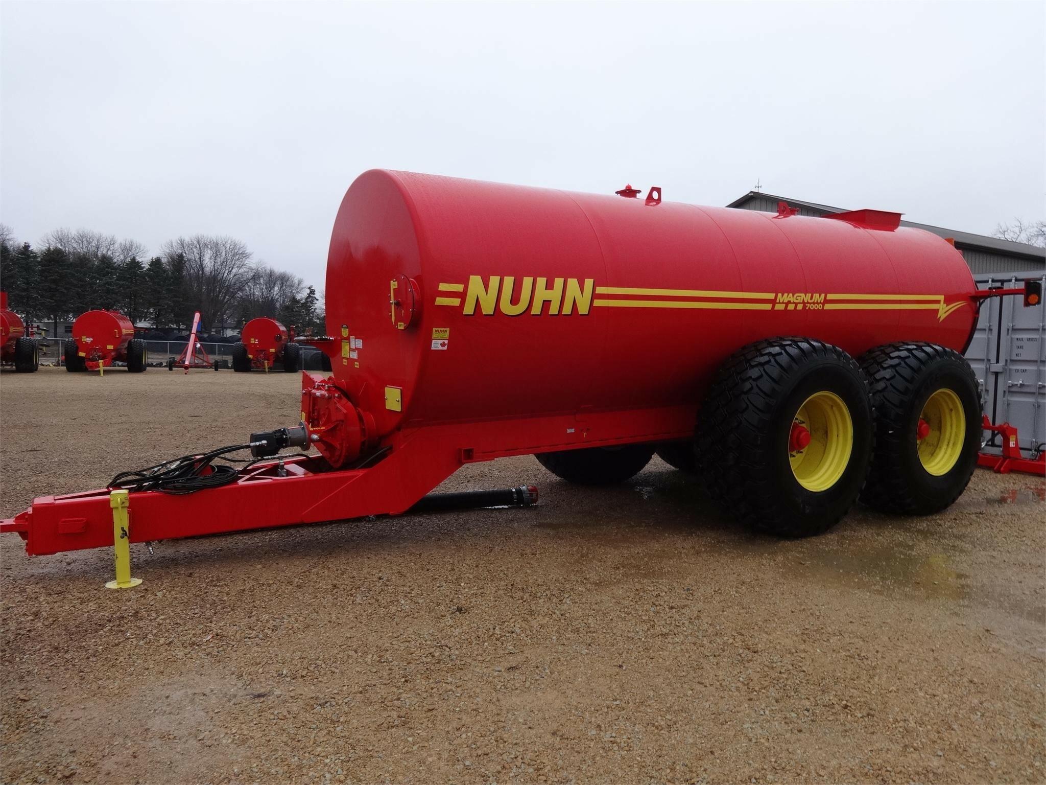 Nuhn 7000 Manure Spreader