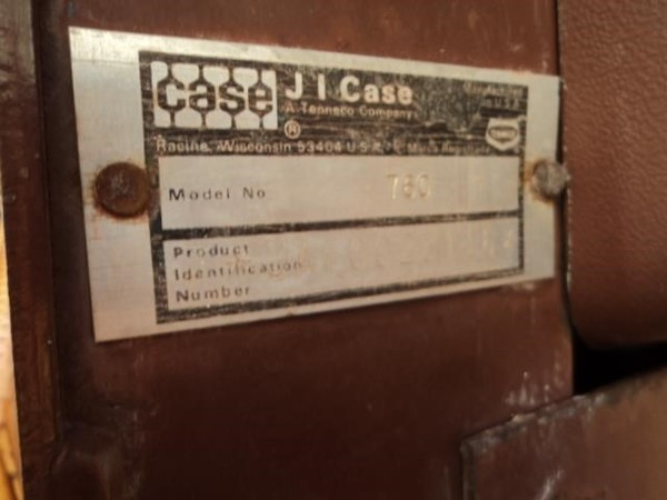 1979 Case 760 Miscellaneous