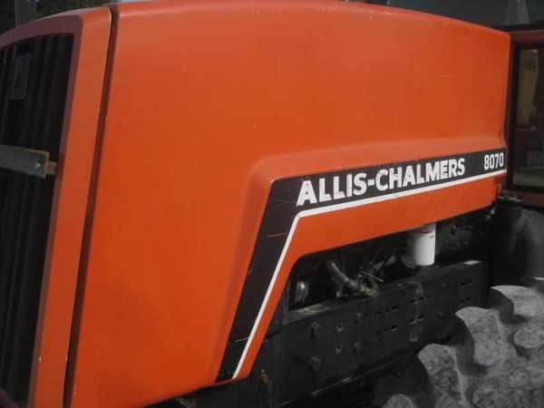 1980 Allis Chalmers 8070 Tractor