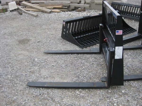 Tomahawk Fork Frame Loader and Skid Steer Attachment