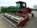 1981 Hesston 6550 Self-Propelled Windrowers and Swather