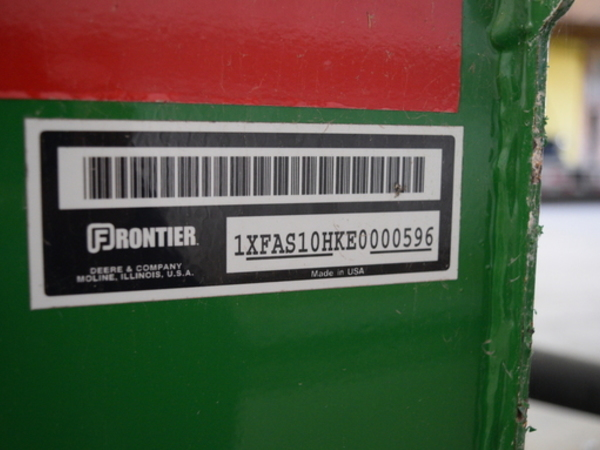 2014 Frontier AS10H Blade