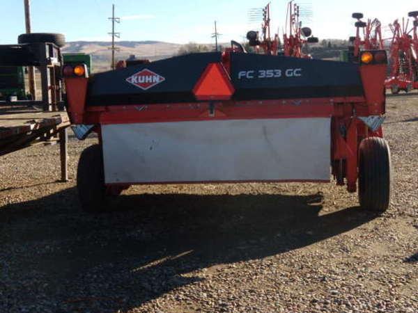 Kuhn FC353GC Mower Conditioner