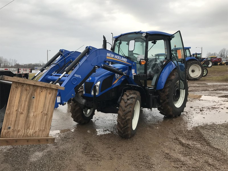 2018 New Holland T4.75 Tractor