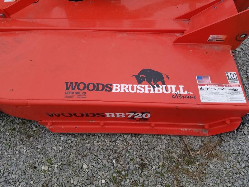 2015 Woods BB720X Rotary Cutter