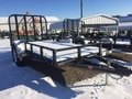 "2018 PJ 12' X 72"" SINGLE AXLE CHANNEL  UTILITY Flatbed Trailer"